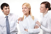 Lovely colleague — Stock Photo