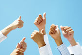 Thumbs up — Stock Photo