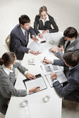 Business briefing — Foto Stock
