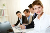 Pretty manager — Stock Photo