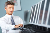Mature manager — Stock Photo