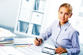 Successful accountant — Stock Photo