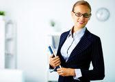 Elegant businesswoman — Stock Photo