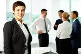 Female colleague — Stock Photo