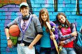 Amici giovanili — Foto Stock