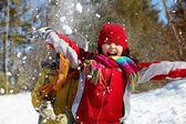 Winter joy — Stock Photo