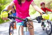Bicycle race — Stock Photo