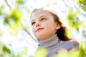 Serene child — Stock Photo