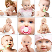 Infancy — Stock Photo