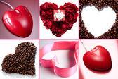 Kreativní srdce — Stock fotografie