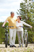 Sportive couple — Stock Photo