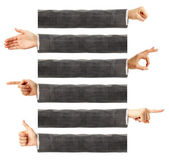 Linguagem corporal — Fotografia Stock