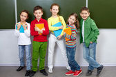 Pupils in class — Stock Photo