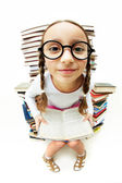Girl in eyeglasses — Stock Photo