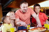 In pizzeria — Stock Photo