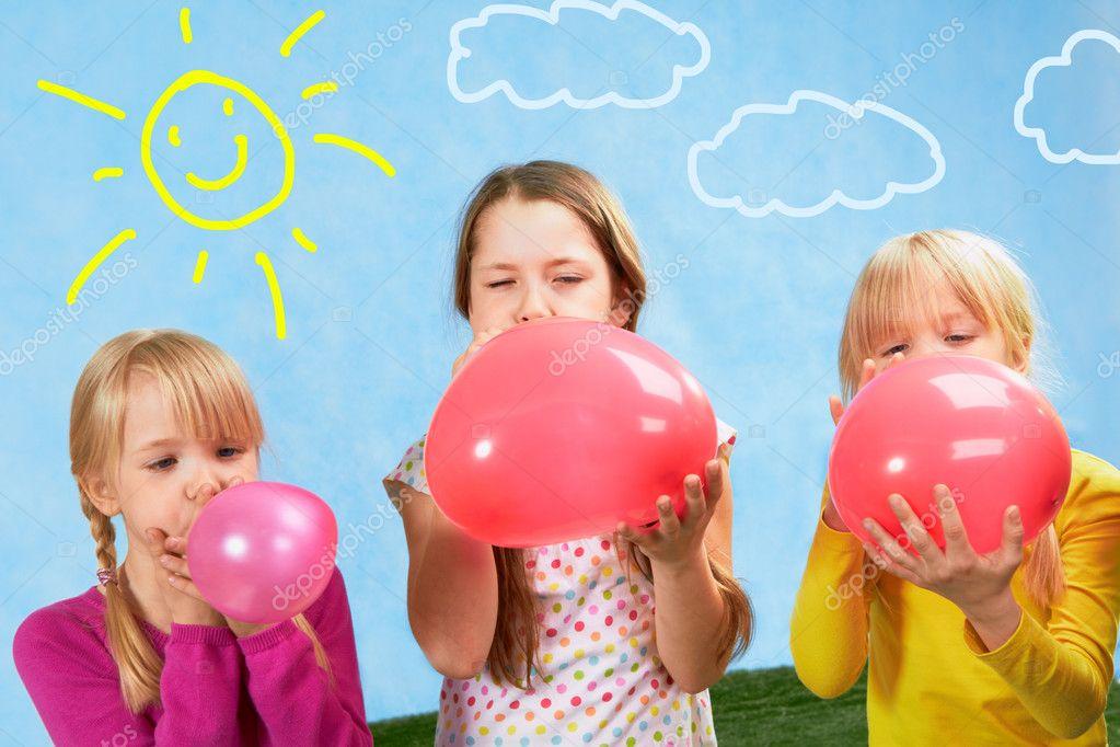 фото дети и шарики