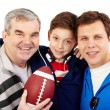 Royalty-Free Stock Photo: Sporty family