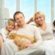 Stock Photo: Family
