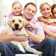 Happy family — Stockfoto #11661727