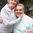 Stock Photo: Retired couple