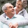 Stock Photo: The senior's love