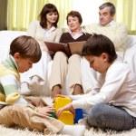 Family idyll — Stock Photo