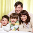 Idyll family — Stockfoto