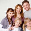 Young family — Stock Photo #11662396