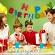 Stock Photo: Happy birthday