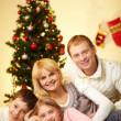 On Christmas Eve — Stock Photo