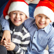 Stock Photo: Little Santas