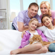Friendly family — Stock Photo #11662653