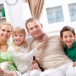 Foto de Stock  : Friendly family