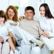 Family at home — Stock Photo #11662758