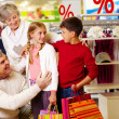Family in department store — Stock Photo #11662837