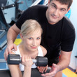 Fitness trainer - Foto Stock