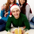 Stock Photo: Celebrating holiday