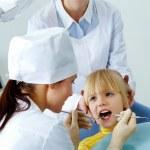 Dental examination — Stock Photo