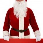 Christmas advertisement — Stock Photo