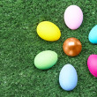 Easter eggs - Stok fotoraf