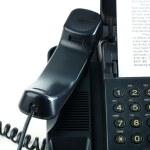 máquina de fax — Foto de Stock