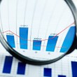Magnified increase — Stock Photo