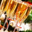Sparkling champagne — Stock Photo