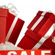 Sale and gifts - Stock Photo