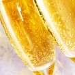 Royalty-Free Stock Photo: Two champagne flutes