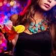 Clubbing girl — Stock Photo