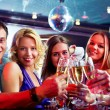 Toasting friends — Stock Photo