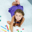 Child drawing — Stock Photo #11668900