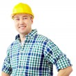 Stock Photo: Smiling architect