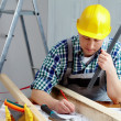 Architect's labor — Stock Photo